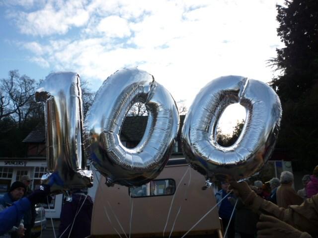 Baton – 100 Years WI Balloon