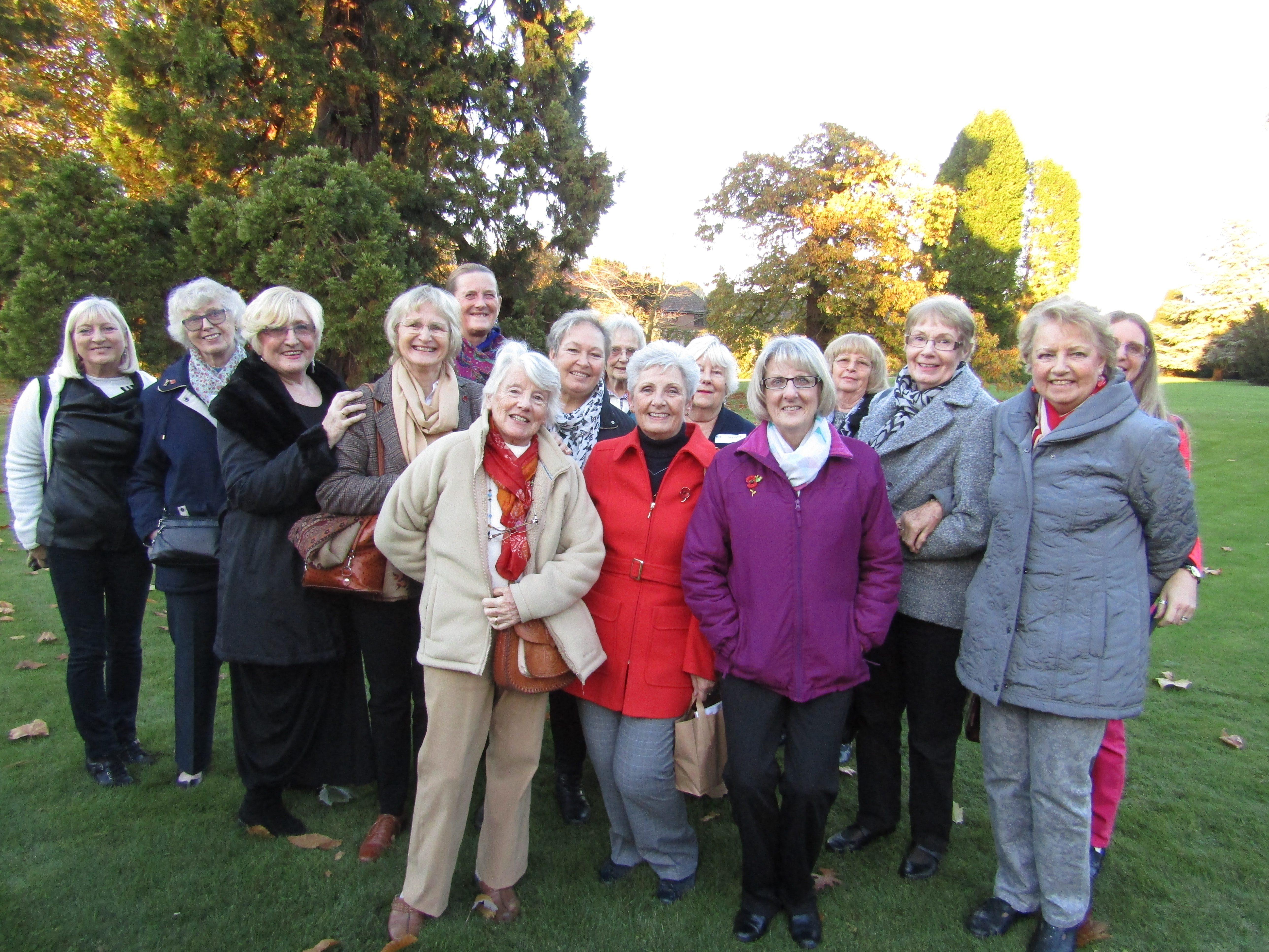 Marchwood WI on a recent visit to Denham