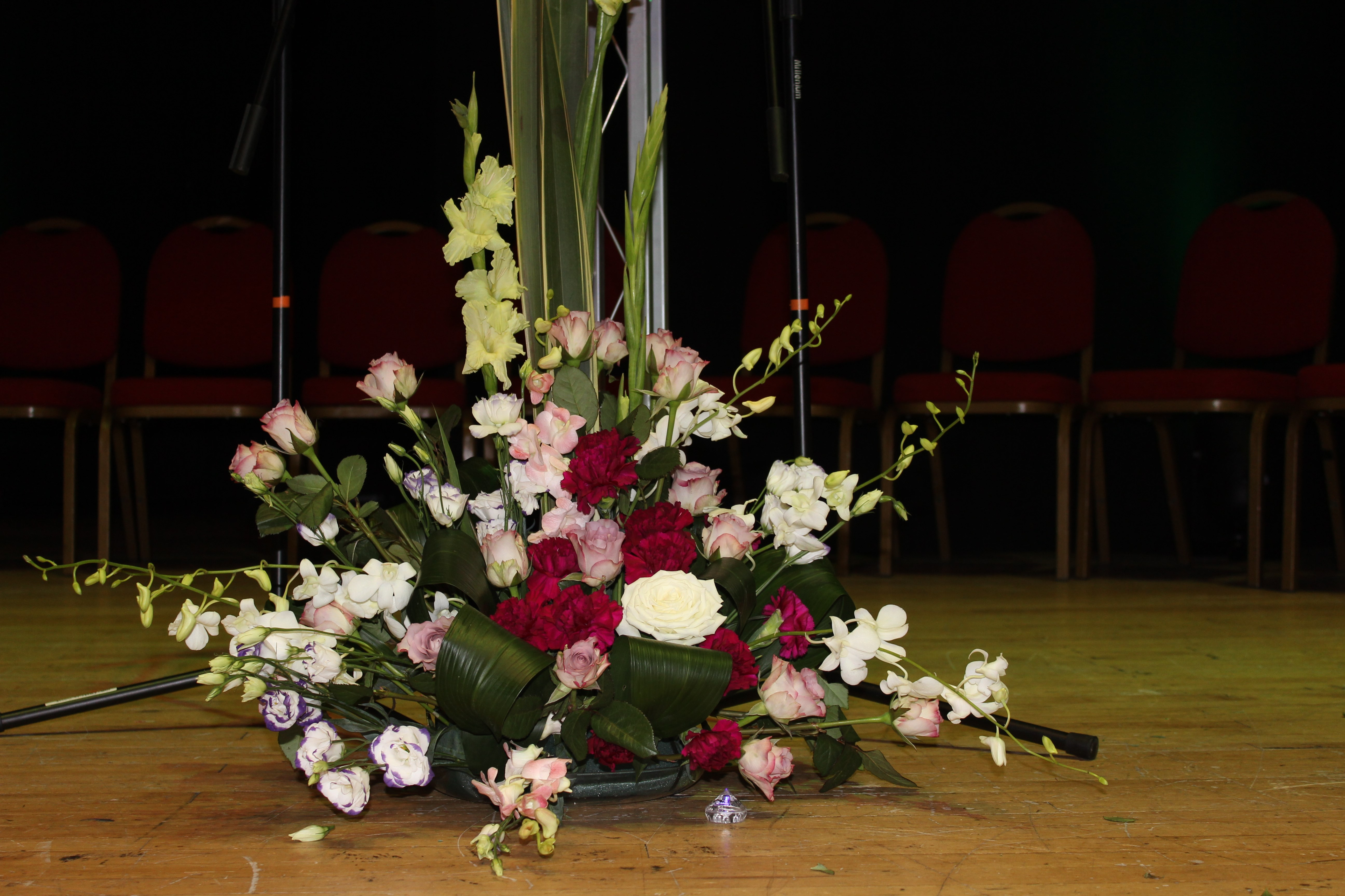 Floral Display at Spring Council Meeting