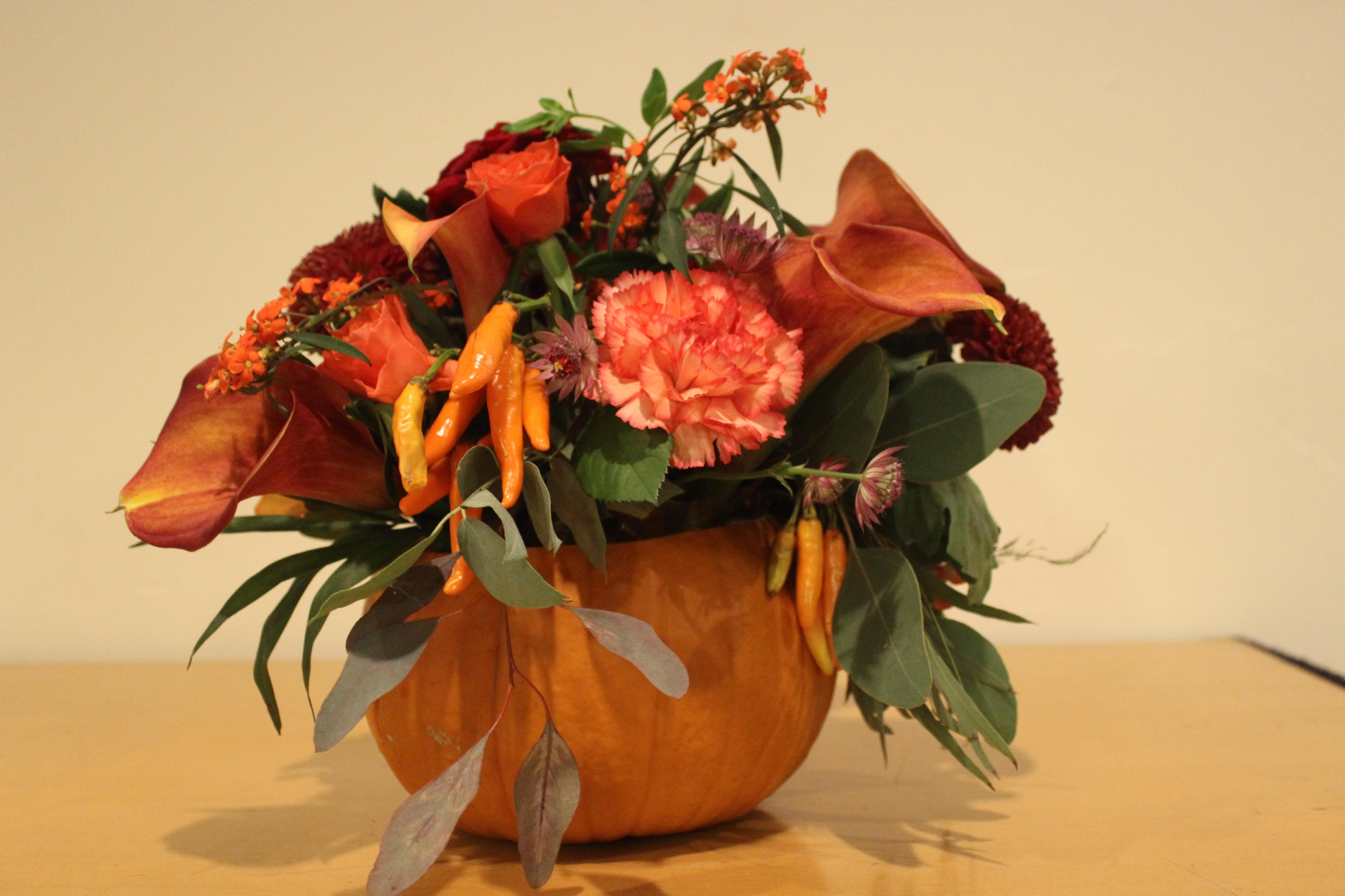 Autumn Meeting 2016 - Flowers