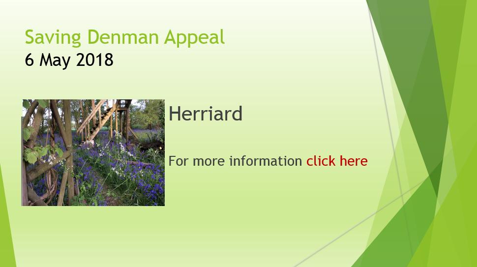 Saving Denman Appeal