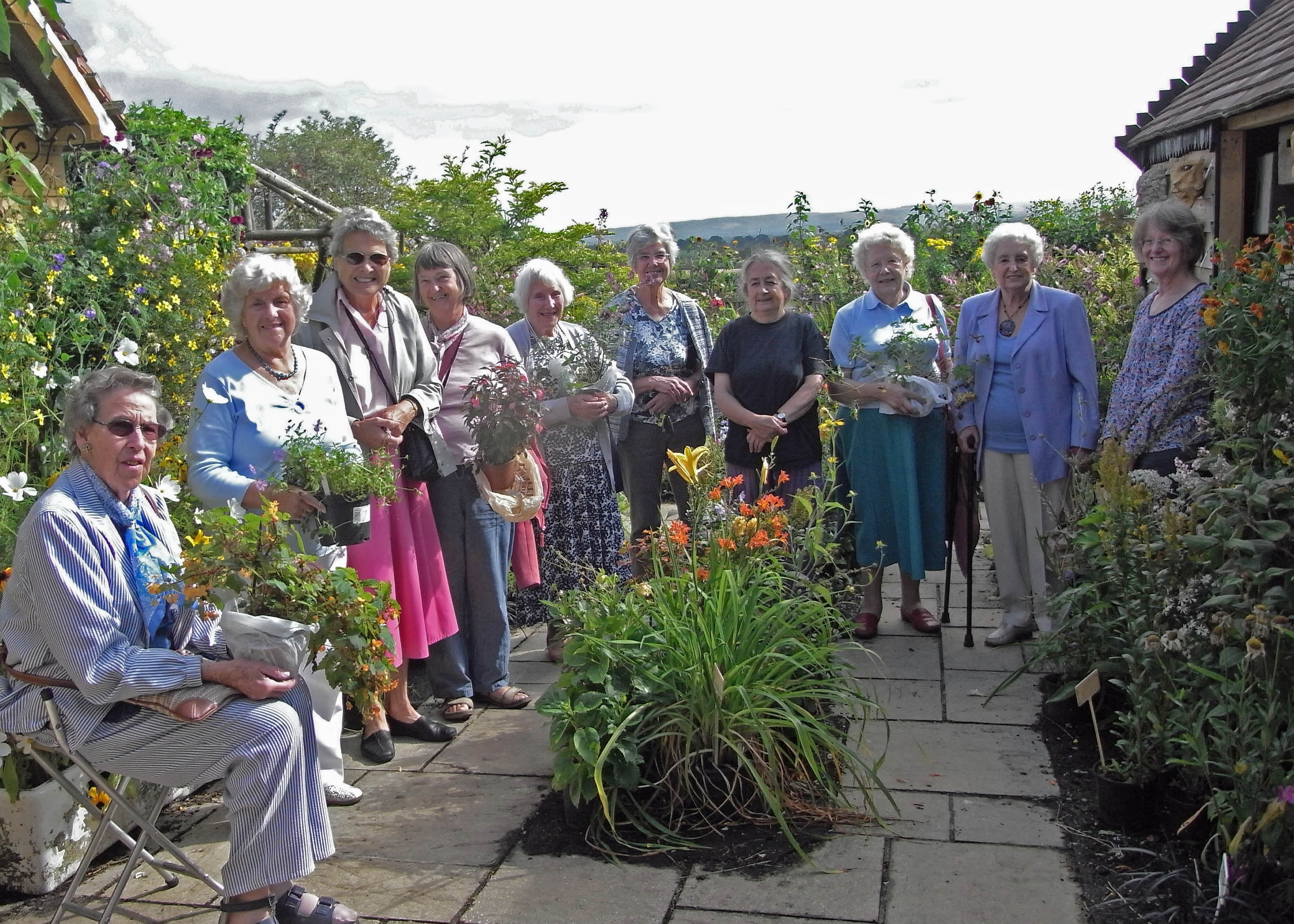 Visit to Hilltop Gardens, Dorset.