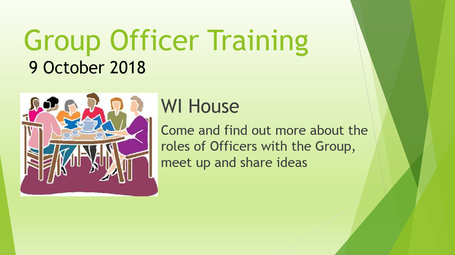 Group Officer Training