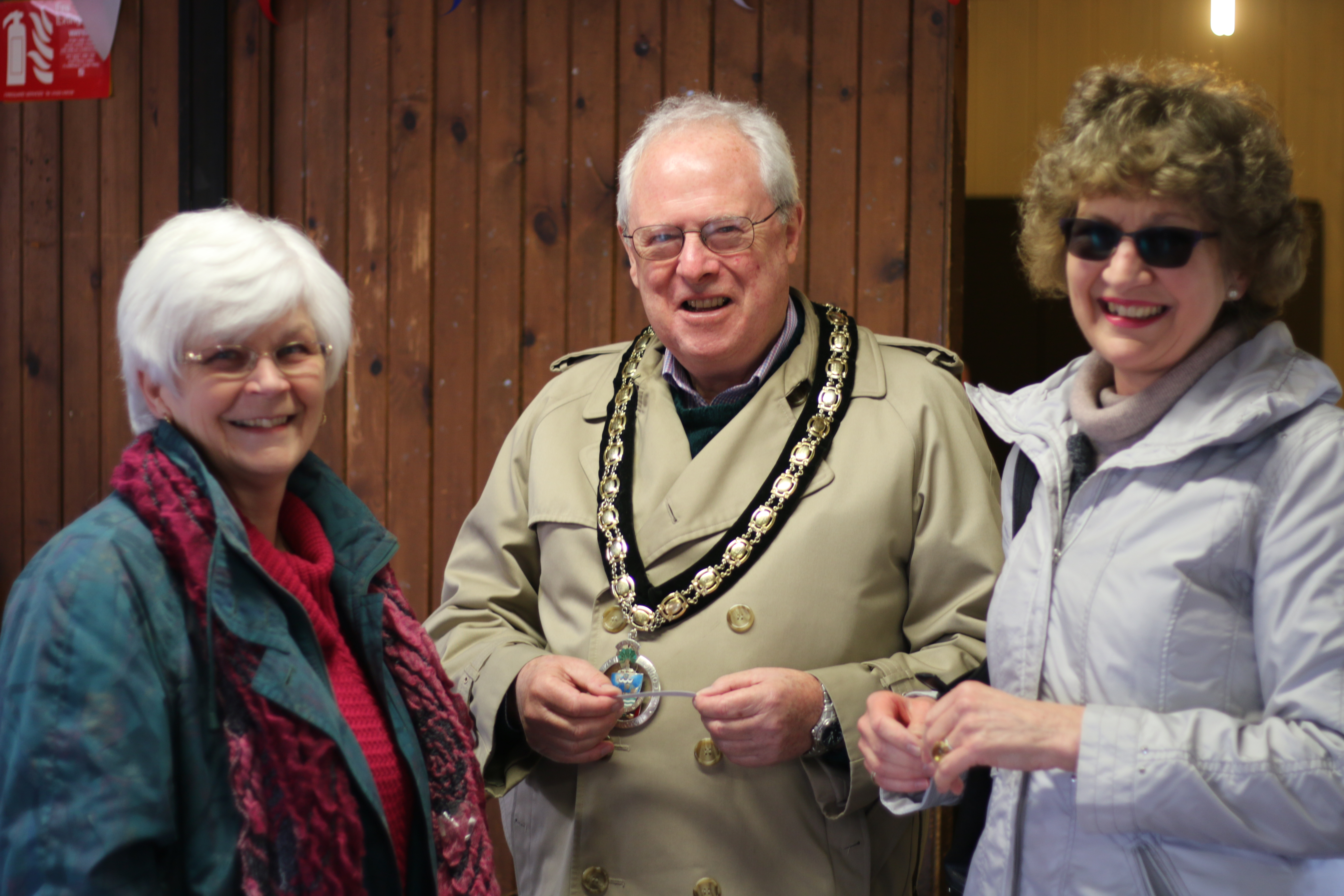 Lymington and Pennington Town Mayor visits our hall open day