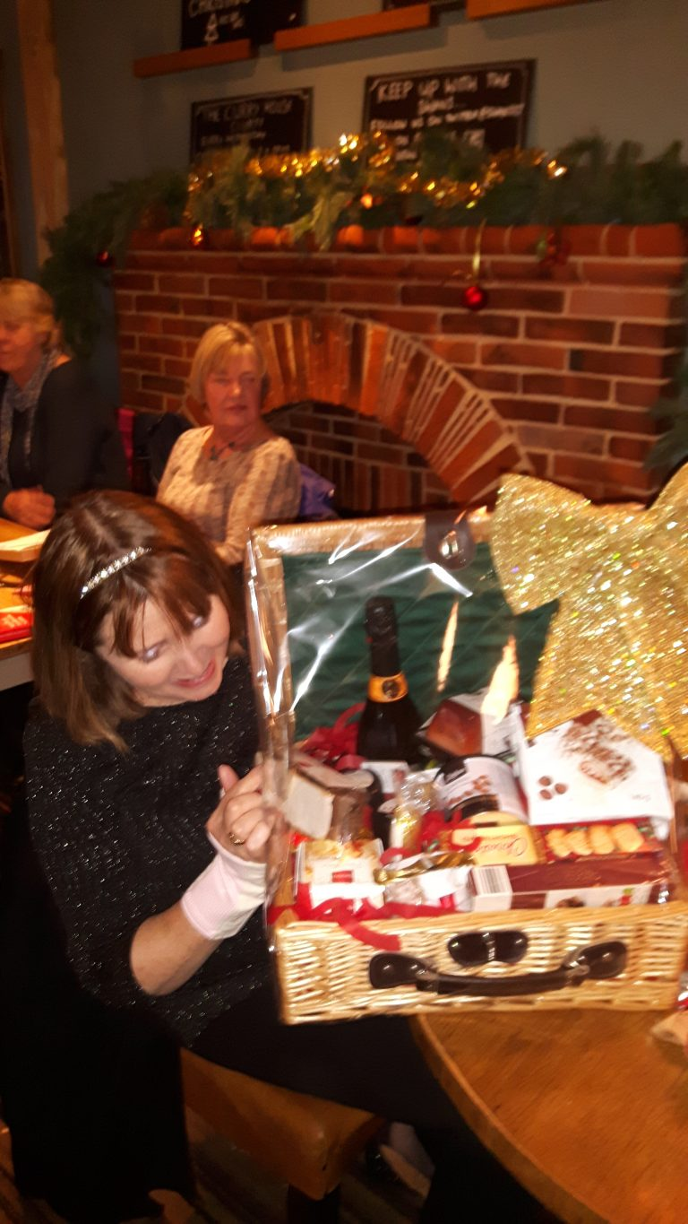 Our lucky hamper winner