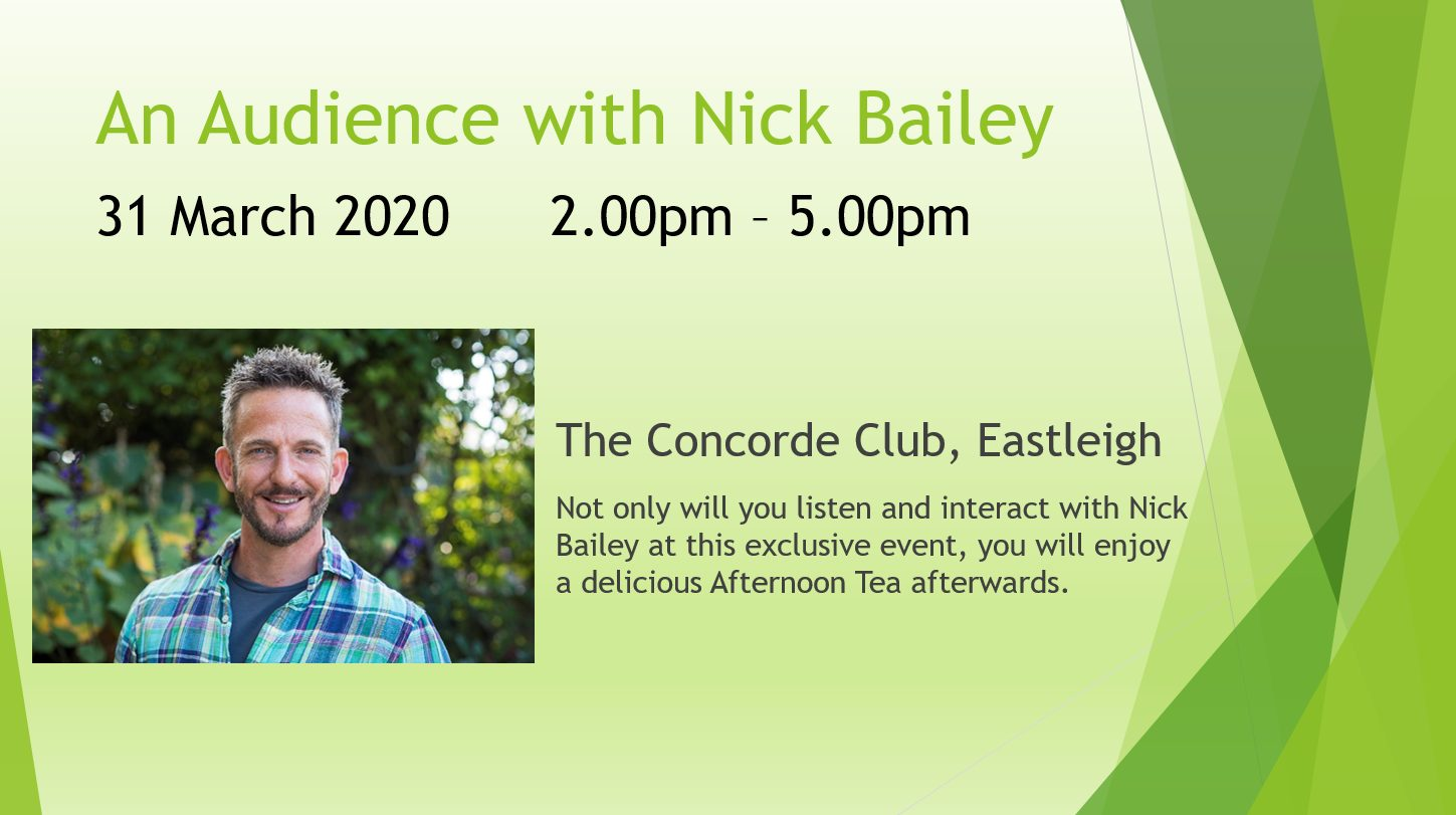 Audience with Nick Bailey