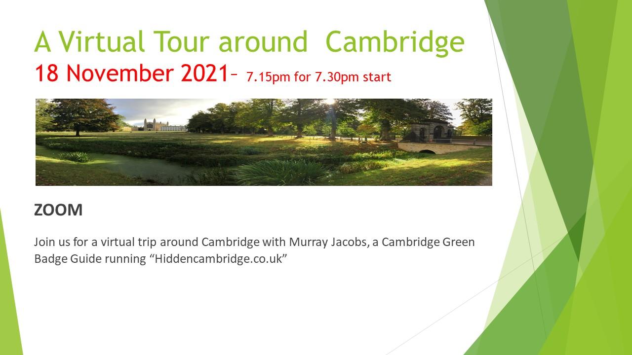 Cambridge Virtual Tour