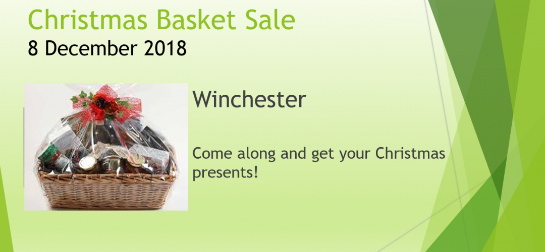 Christmas Basket Sale