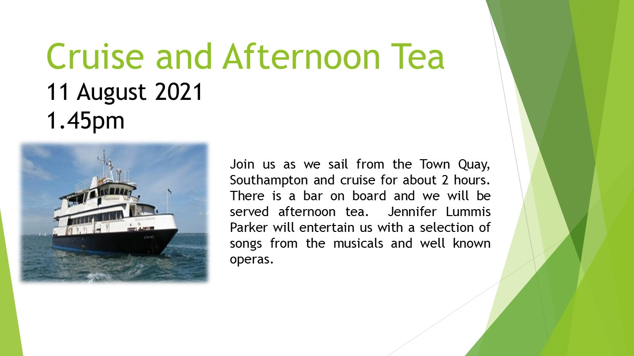Cruise & Afternoon Tea