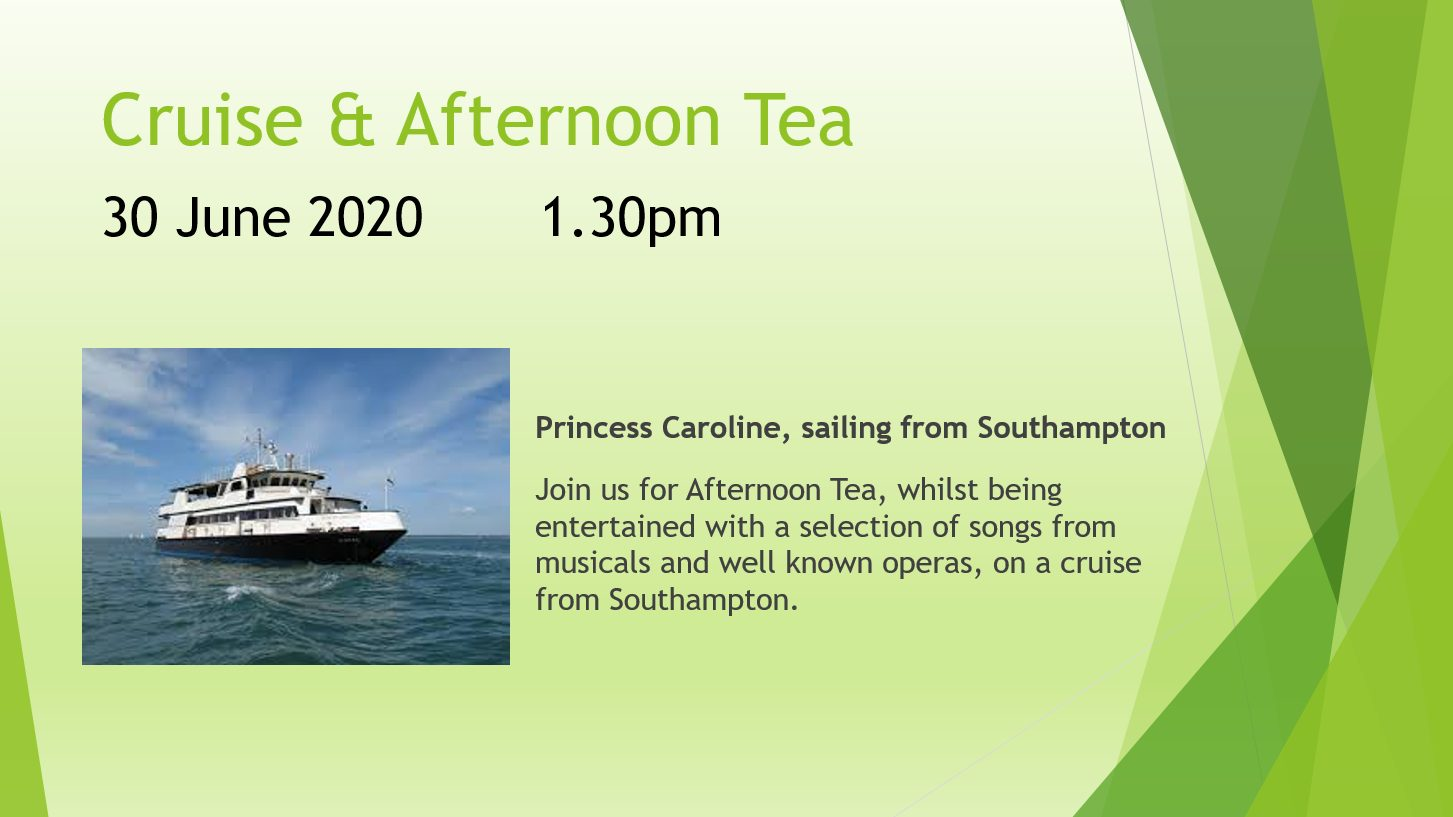 Cruise and Afternoon Tea