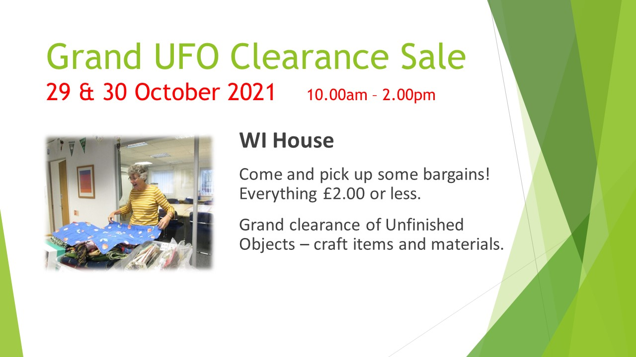 Grand UFO Clearance Sale
