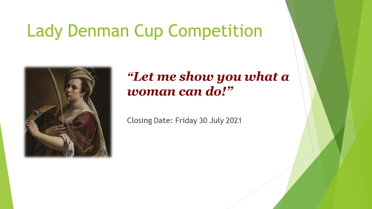 Lady Denman Cup Comp. 2021