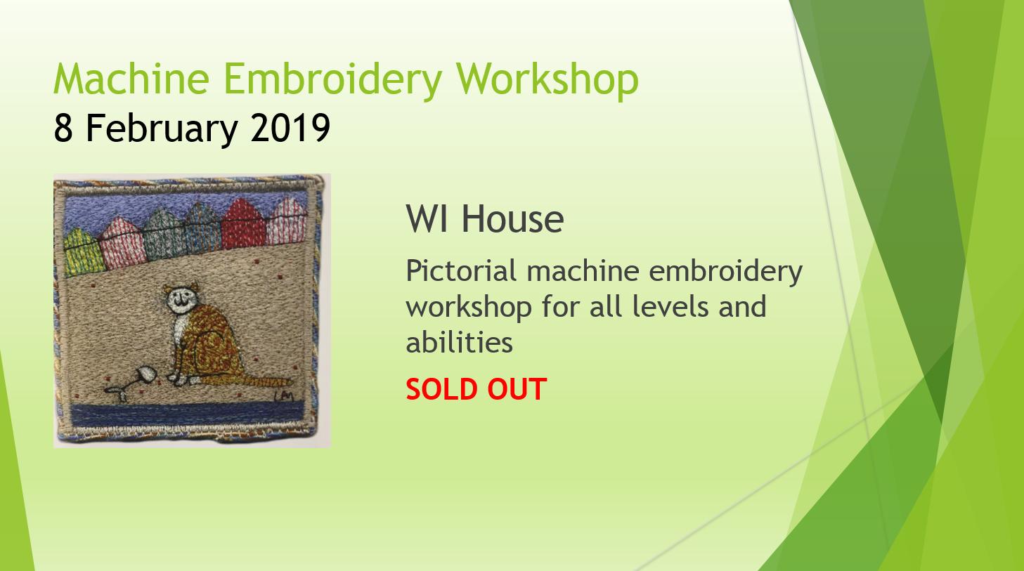 Machine Emboidery Feb