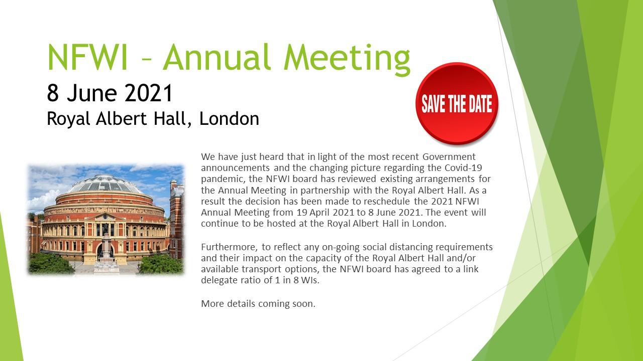 NFWI Annual Meeting