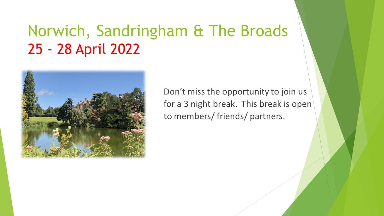 Norwich, Sandringham & Broads Hol