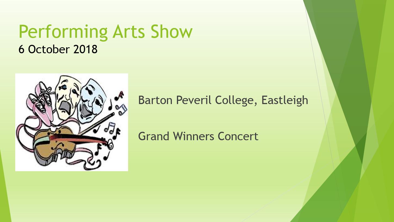 Performing Arts Festival Concert