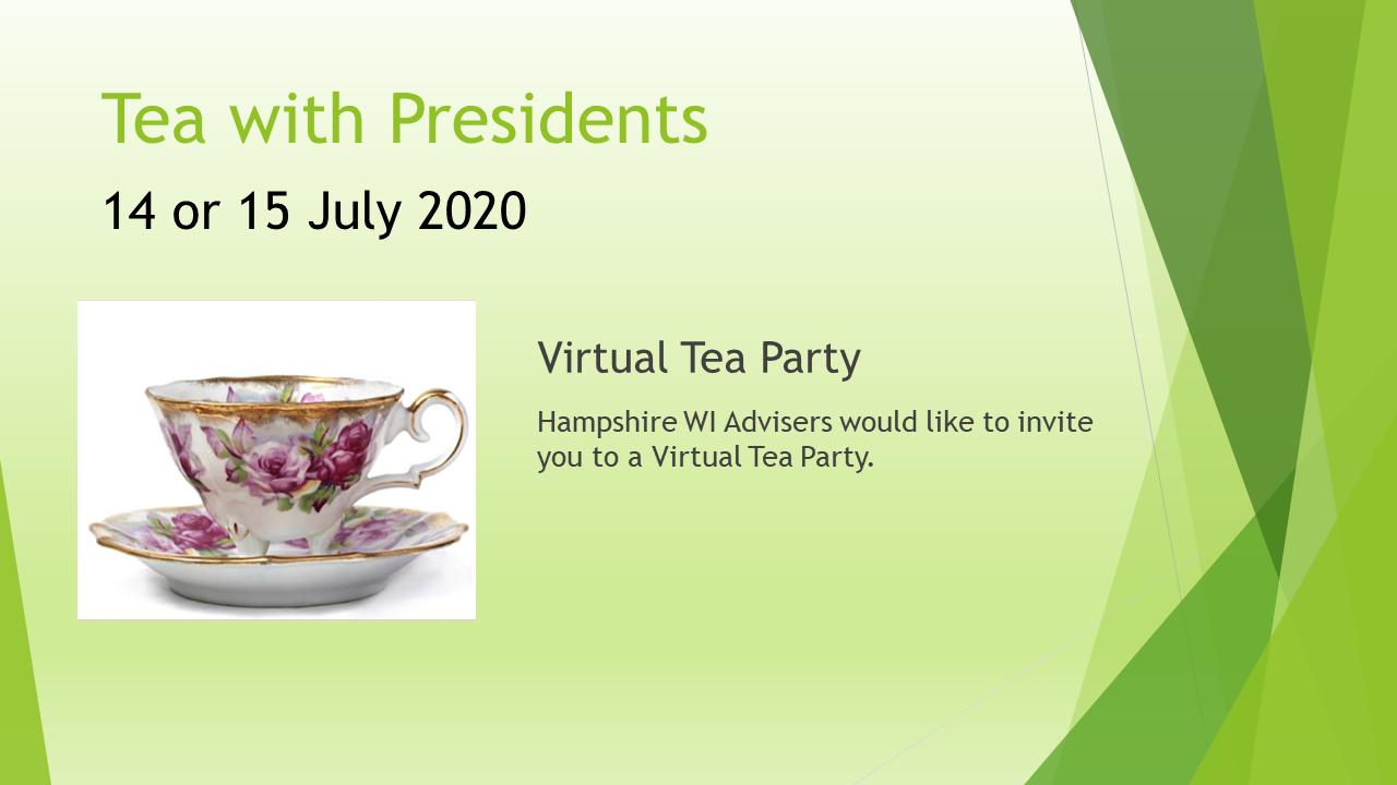 Tea With Presidents