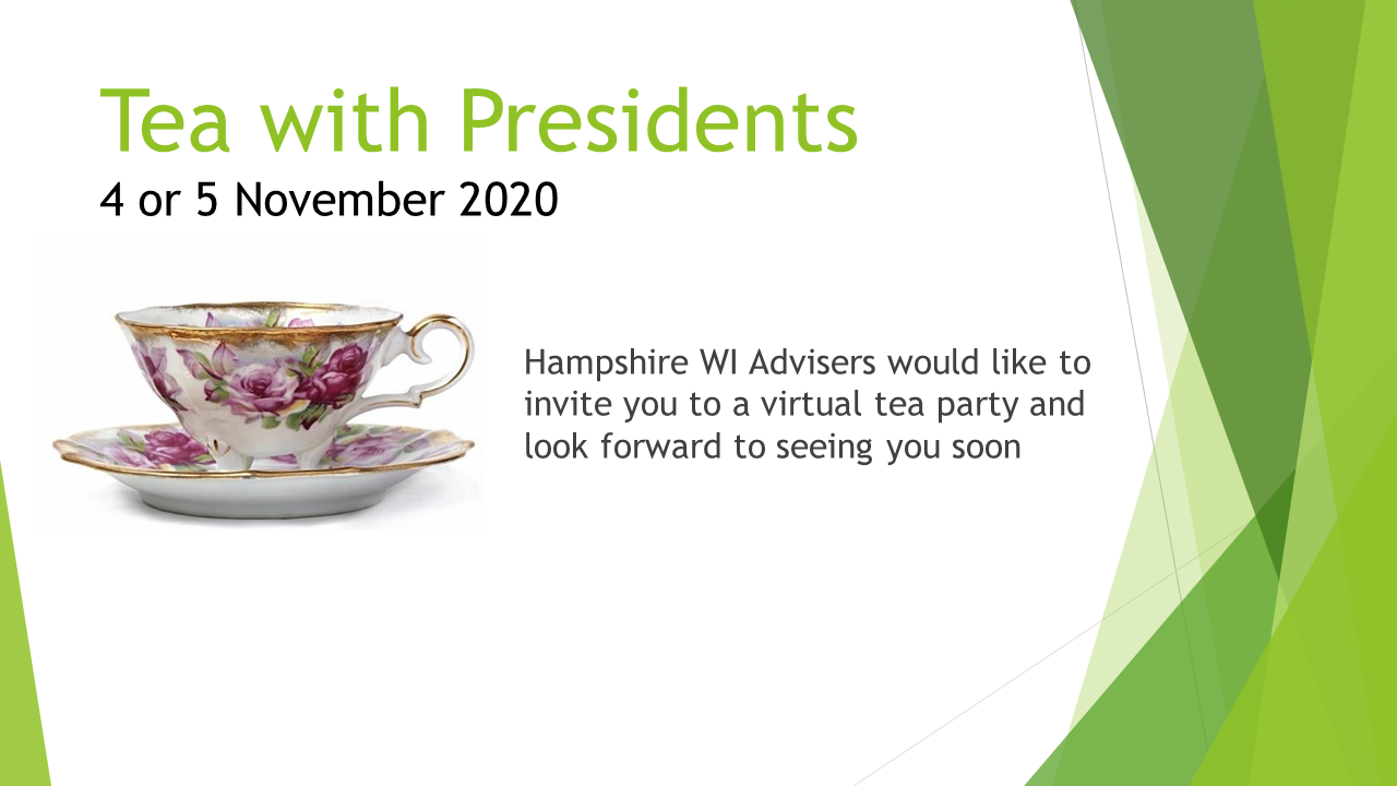 Tea with Presidents