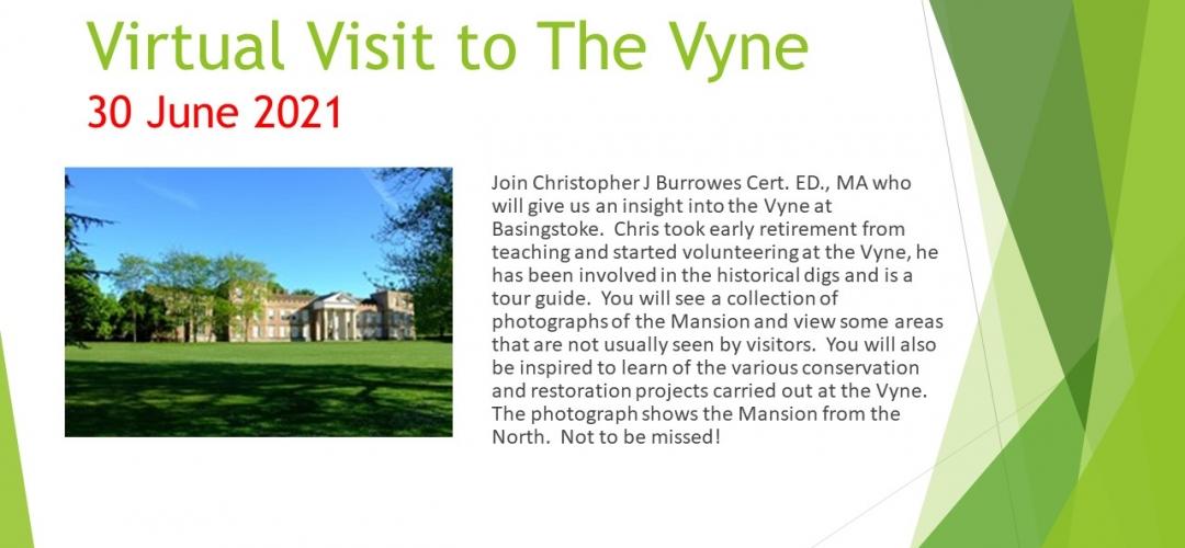 Virtual Visit to the Vyne