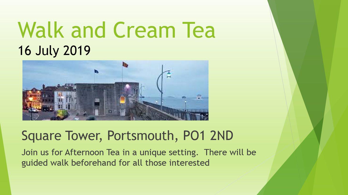 Walk and Cream Tea