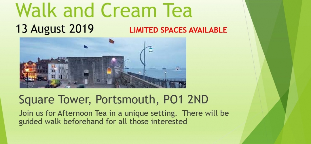 Walk and Cream Tea August