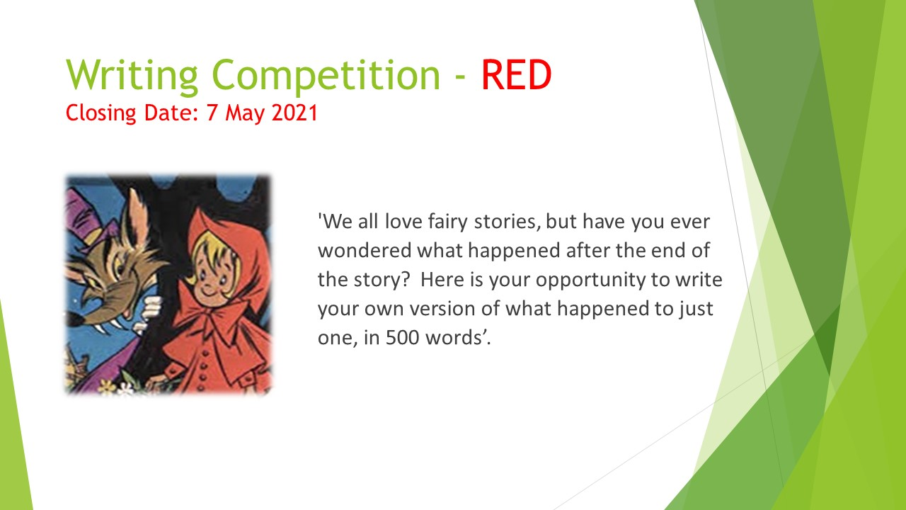 Writing Competion – RED