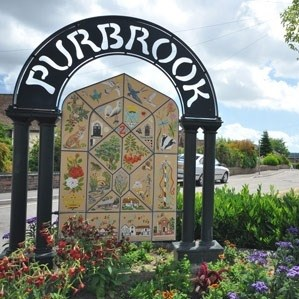 Stakes WI Purbrook sign